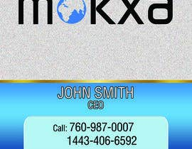 itsmejiminsigne tarafından Design some Business Cards for Mokxa Technologies LLC için no 17