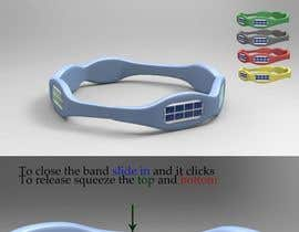 #18 for Solar Waterproof Bracelet (Product Design, 3D Rendering) by raeshounamarie