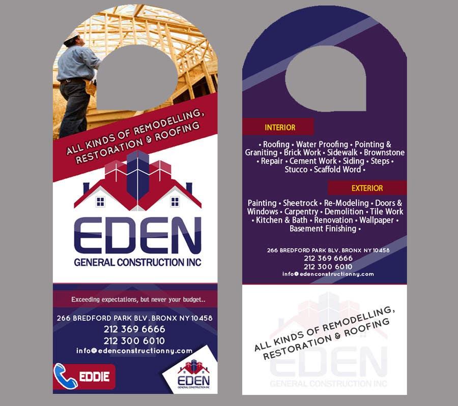 Bài tham dự cuộc thi #                                        22                                      cho                                         Design a Flyer for a general contractor