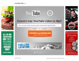 #51 untuk Youtube to MP3 Converter Website oleh hipnotyka