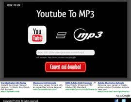 #37 untuk Youtube to MP3 Converter Website oleh macper