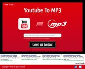 Contest Entry #39 for Youtube to MP3 Converter Website