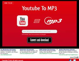 #39 untuk Youtube to MP3 Converter Website oleh macper