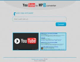 #8 for Youtube to MP3 Converter Website af gatabeyli