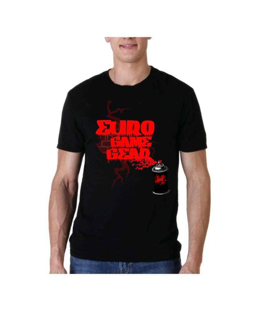 Entry 19 By Hussainanima For Design A T Shirt For Euro Game Gear
