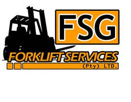 #37 untuk Design a Logo for a forklift company oleh rhenzexe