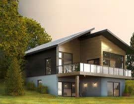 #21 untuk 3D model of Country house oleh miljanpopovic88