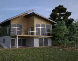 Alexnap tarafından 3D model of Country house için no 9