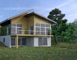 #13 untuk 3D model of Country house oleh Alexnap