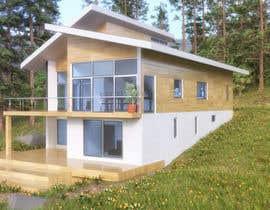 #22 untuk 3D model of Country house oleh Alexnap
