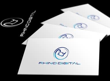 #81 untuk Redesign a Logo for Rhino Digital -- 2 oleh faisalmasood012