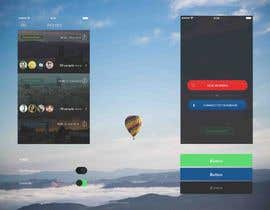 #20 untuk Design an app mock up for a home screen oleh ganzam