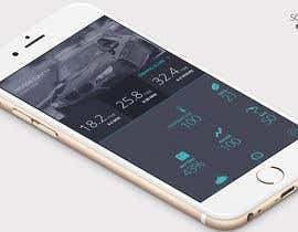 #3 untuk Design an app mock up for a screen that shows real time vehicle data oleh assamite