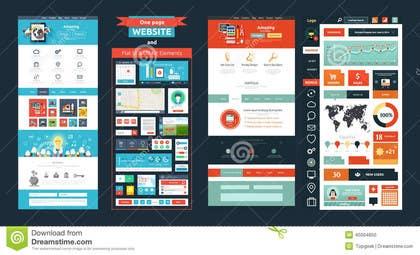 kashifstudio tarafından Design a single page Web App UI için no 4