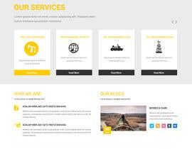 #10 untuk Design a Website Mockup oleh syrwebdevelopmen