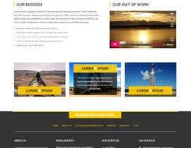 #14 untuk Design a Website Mockup oleh syrwebdevelopmen