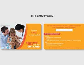 #2 untuk Design a GiftCard + GiftCard holder oleh vonnydu