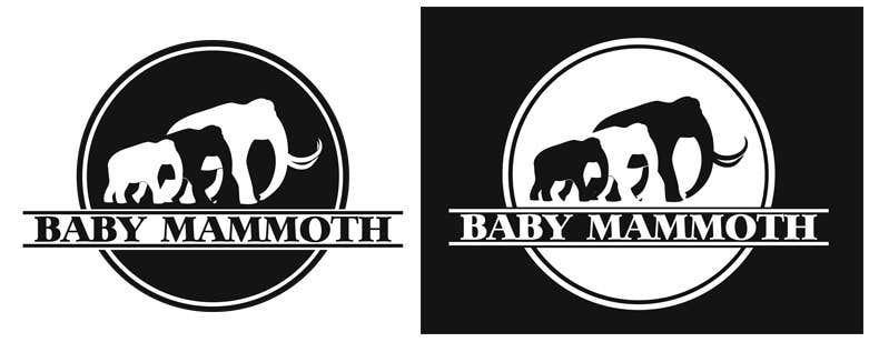 #29 for Design a Logo for Baby Mammoth! by rosaleon