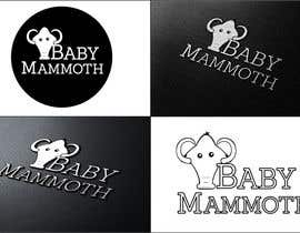 #26 para Design a Logo for Baby Mammoth! por klewthwaite