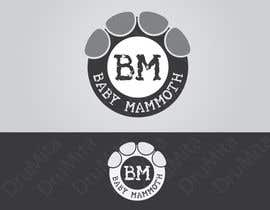 #80 para Design a Logo for Baby Mammoth! por DruMita