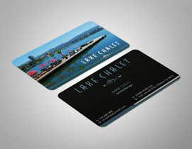 #95 untuk Design some Business Cards for Lake Chalet oleh ashanurzaman