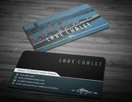 #5 untuk Design some Business Cards for Lake Chalet oleh anikush