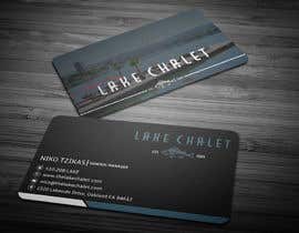 #9 untuk Design some Business Cards for Lake Chalet oleh anikush
