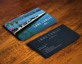 #57 untuk Design some Business Cards for Lake Chalet oleh mohanedmagdii