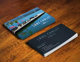 #58 untuk Design some Business Cards for Lake Chalet oleh mohanedmagdii