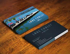 #59 untuk Design some Business Cards for Lake Chalet oleh mohanedmagdii