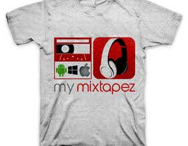 nº 57 pour Design a T-Shirt for My mixtapez par xcerlow
