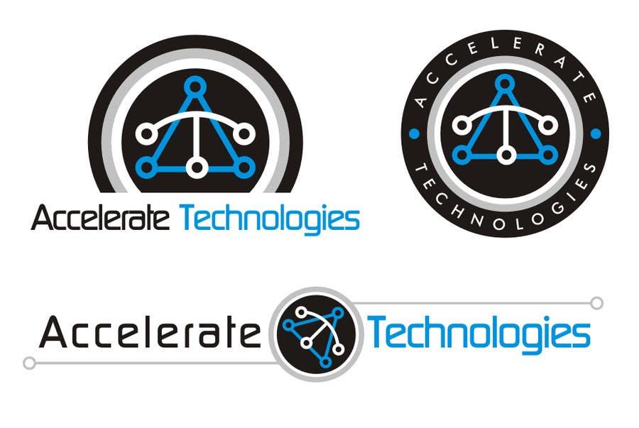 Penyertaan Peraduan #30 untuk Design a Logo for Accelerate Technologies