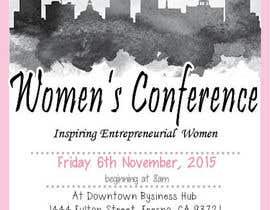 rowebronwen tarafından Women's Conference Event Flyer için no 6