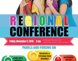 amcgabeykoon tarafından Women's Conference Event Flyer için no 8
