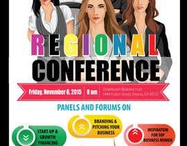 amcgabeykoon tarafından Women's Conference Event Flyer için no 9