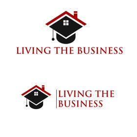 Nro 8 kilpailuun Design a Logo for LivingtheBusiness.com a real estate training, consulting and coaching company käyttäjältä putul1950