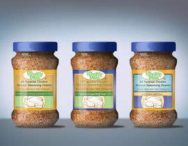 #35 untuk Fast & easy job, making a label design for natural seasoning oleh othmanesami2299