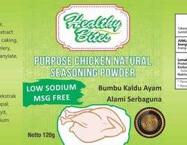 #29 untuk Fast & easy job, making a label design for natural seasoning oleh Makbar89