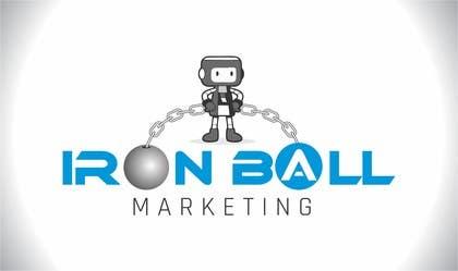 #5 untuk Design a Logo for  Iron Ball  Marketing oleh manu123dk