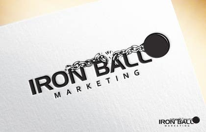 #88 untuk Design a Logo for  Iron Ball  Marketing oleh javedg