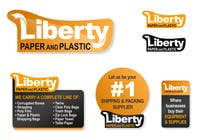 Contest Entry #225 for Design a Logo for Liberty Paper and Plastic