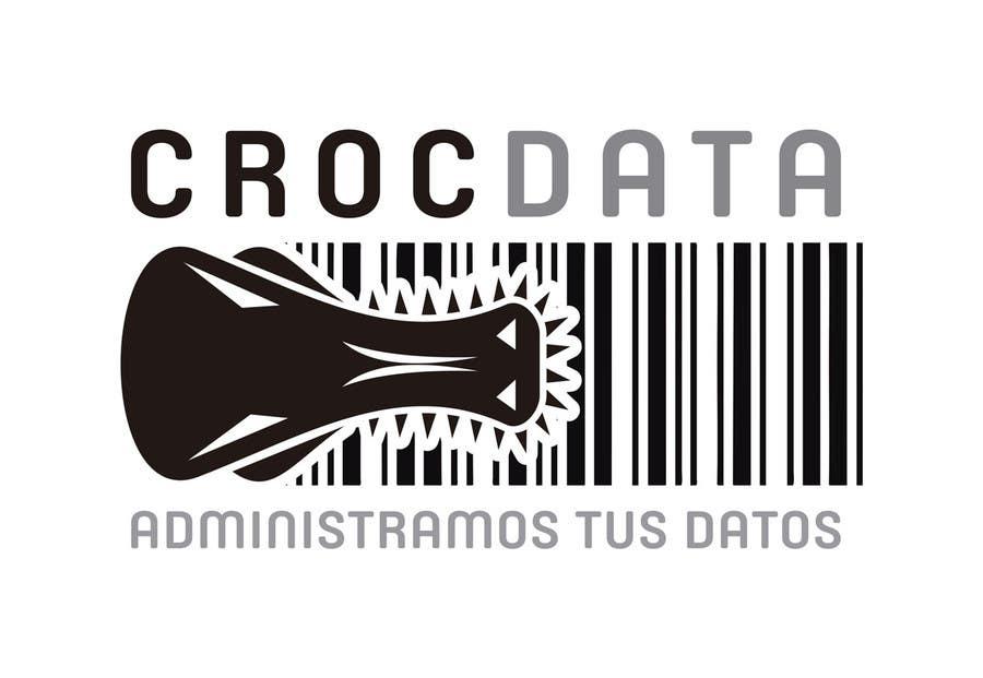 Penyertaan Peraduan #30 untuk Logo for CrocDATA a website for barcodes
