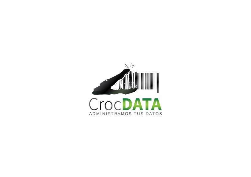 Penyertaan Peraduan #112 untuk Logo for CrocDATA a website for barcodes