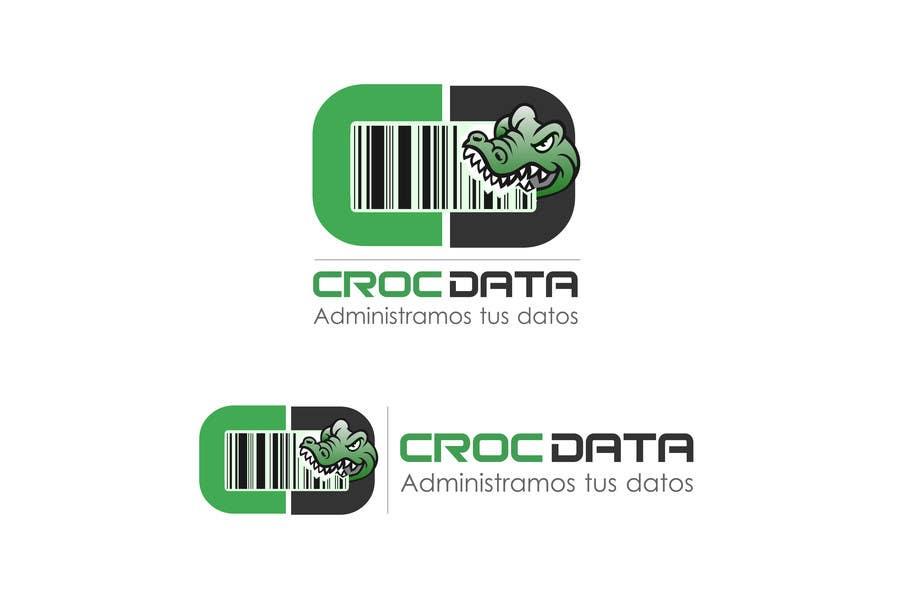 Penyertaan Peraduan #31 untuk Logo for CrocDATA a website for barcodes
