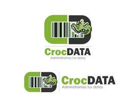 #50 untuk Logo for CrocDATA a website for barcodes oleh dandrexrival07
