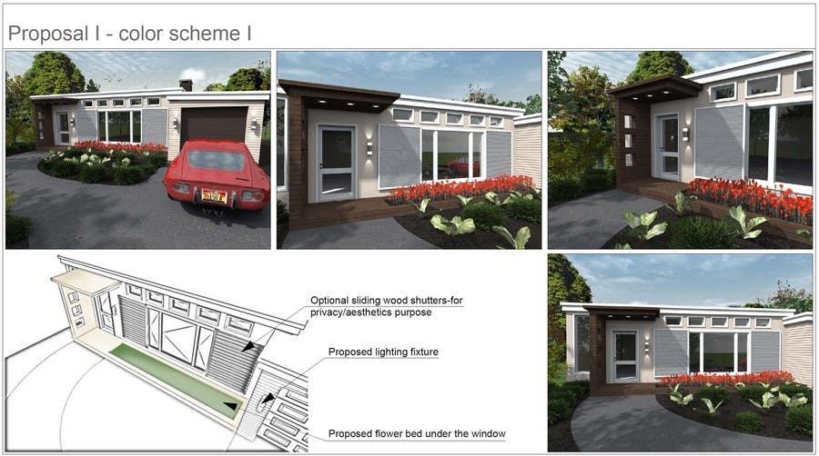Front Porch Design için 7 numaralı Yarışma Girdisi