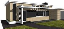 Front Porch Design için 6 numaralı 3D Rendering Yarışma Girdisi