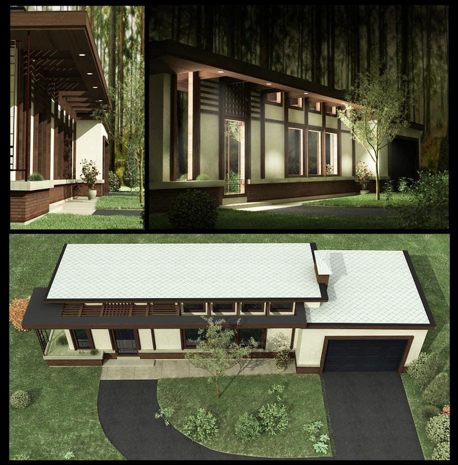 Front Porch Design için 18 numaralı Yarışma Girdisi