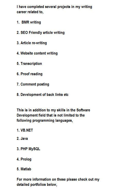 #3 for Website Content Writing by Yoosuf009