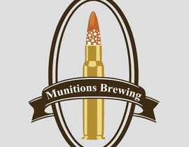 #9 для Munitions Brewing Logo Contest от Bugbeeb